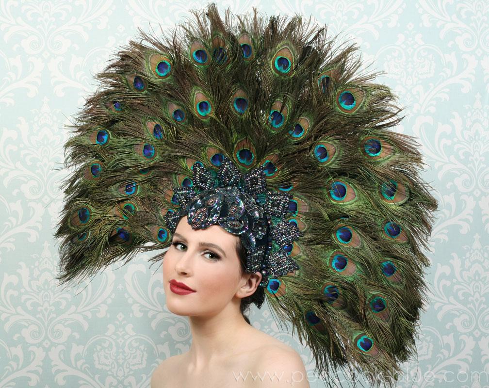 viva divas showgirl headpiece  ooh la la